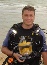 First Emergency Recovery Diver ERDI course run in thailand 2005