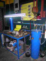 hydrostatic test bench