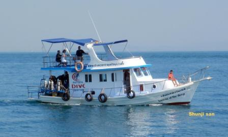 Sirens of the deep - Pattaya Dive Center boat
