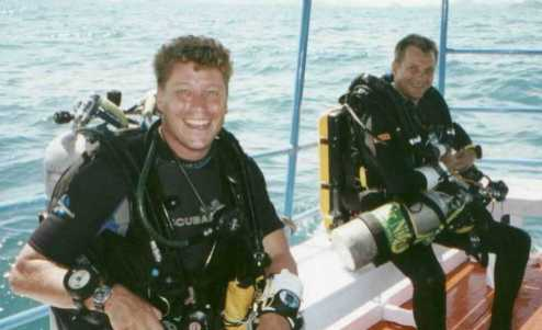 A nice relaxed 90m dive with good friend Mr Lars Steffensen and his very tastie 'Buddy Inspiration' closed Circuit rebreather